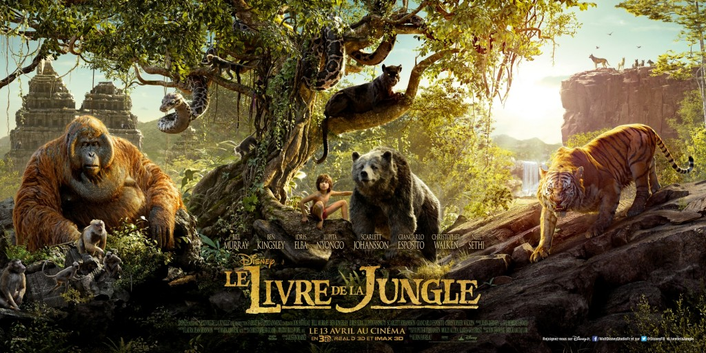 affiche le livre de la jungle le film disney