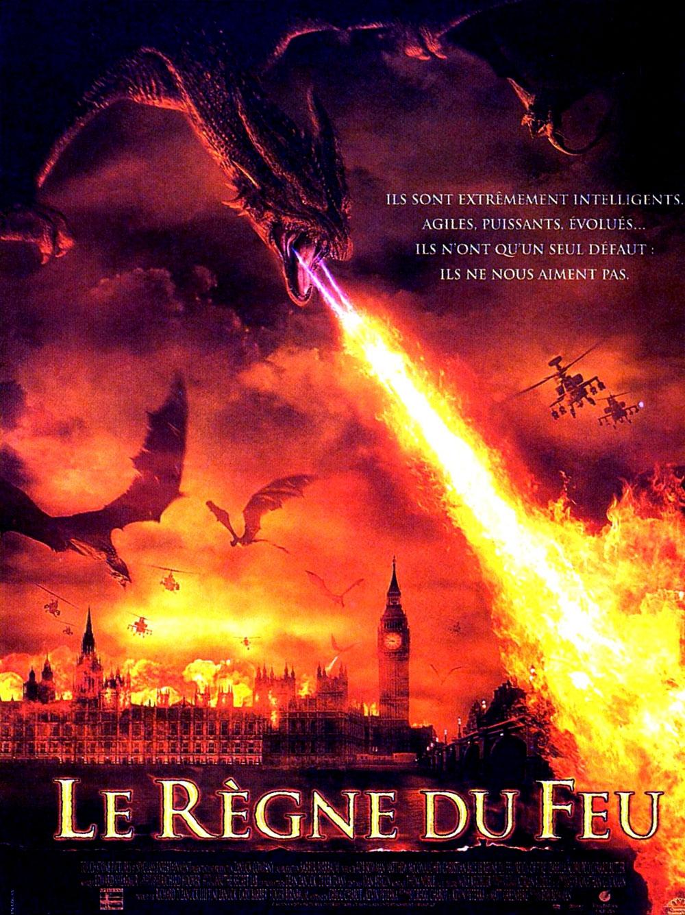 le règne du feu affiche disney poster touchstone