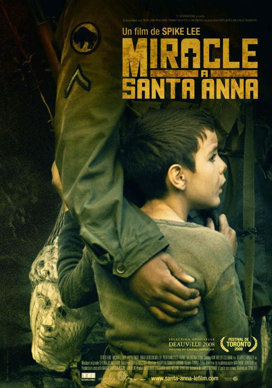 miracle à sainta anna   affiche disney poster touchstone