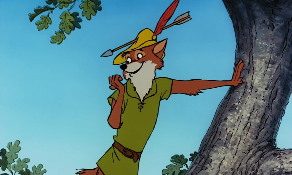 personnage character disney robin bois hood