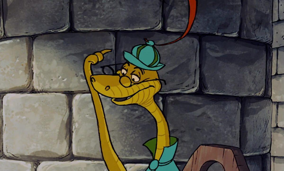 triste sire persifleur sir hiss personnage character disney robin bois hood
