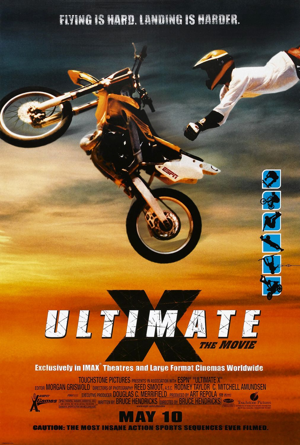 ultimate x film affiche disney poster touchstone