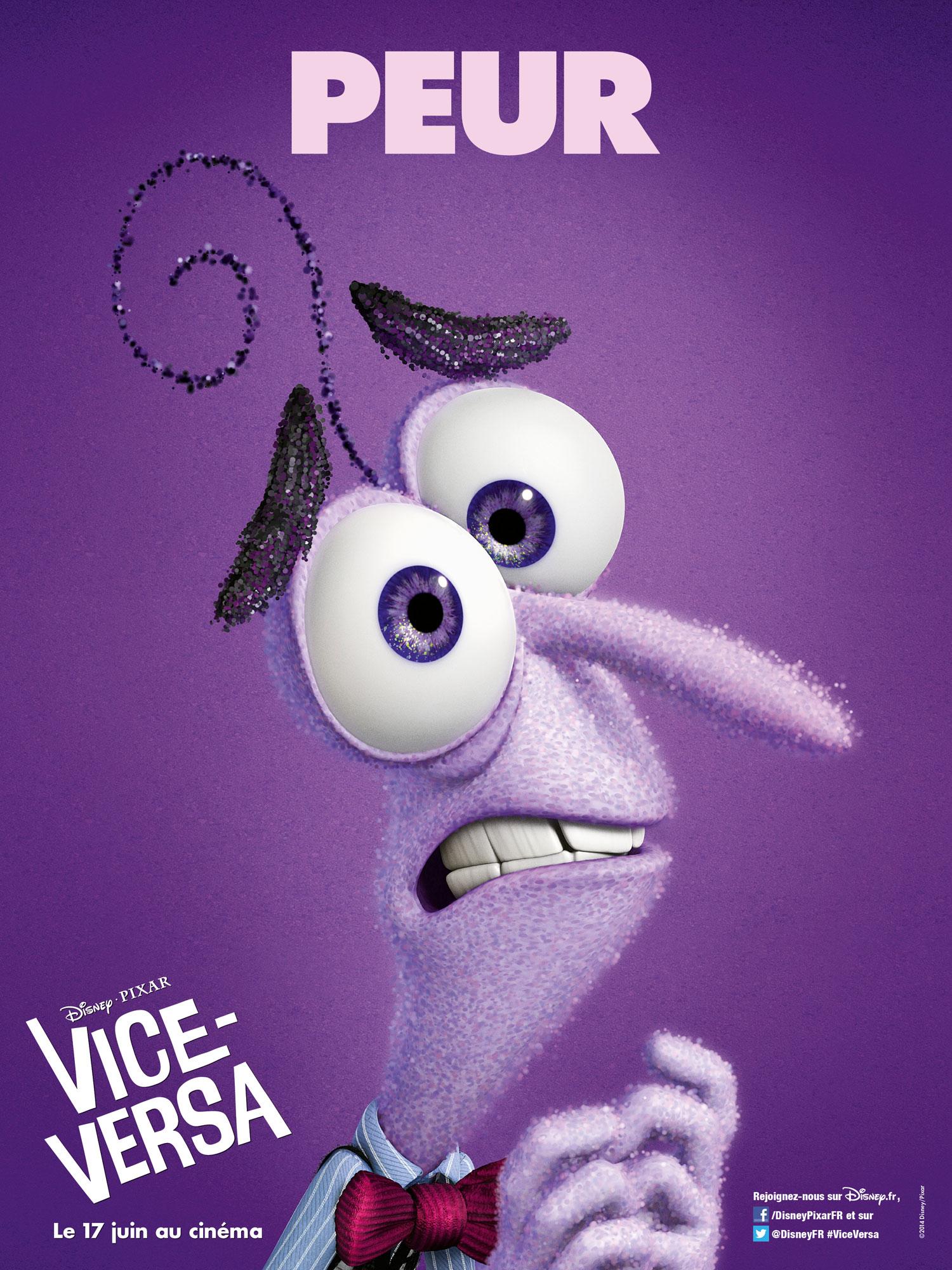 vice versa affiche poster inside out disney pixar