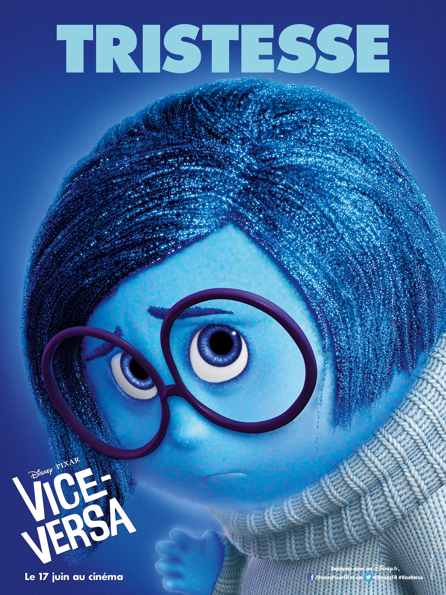 vice versa affiche poster inside out disney pixar
