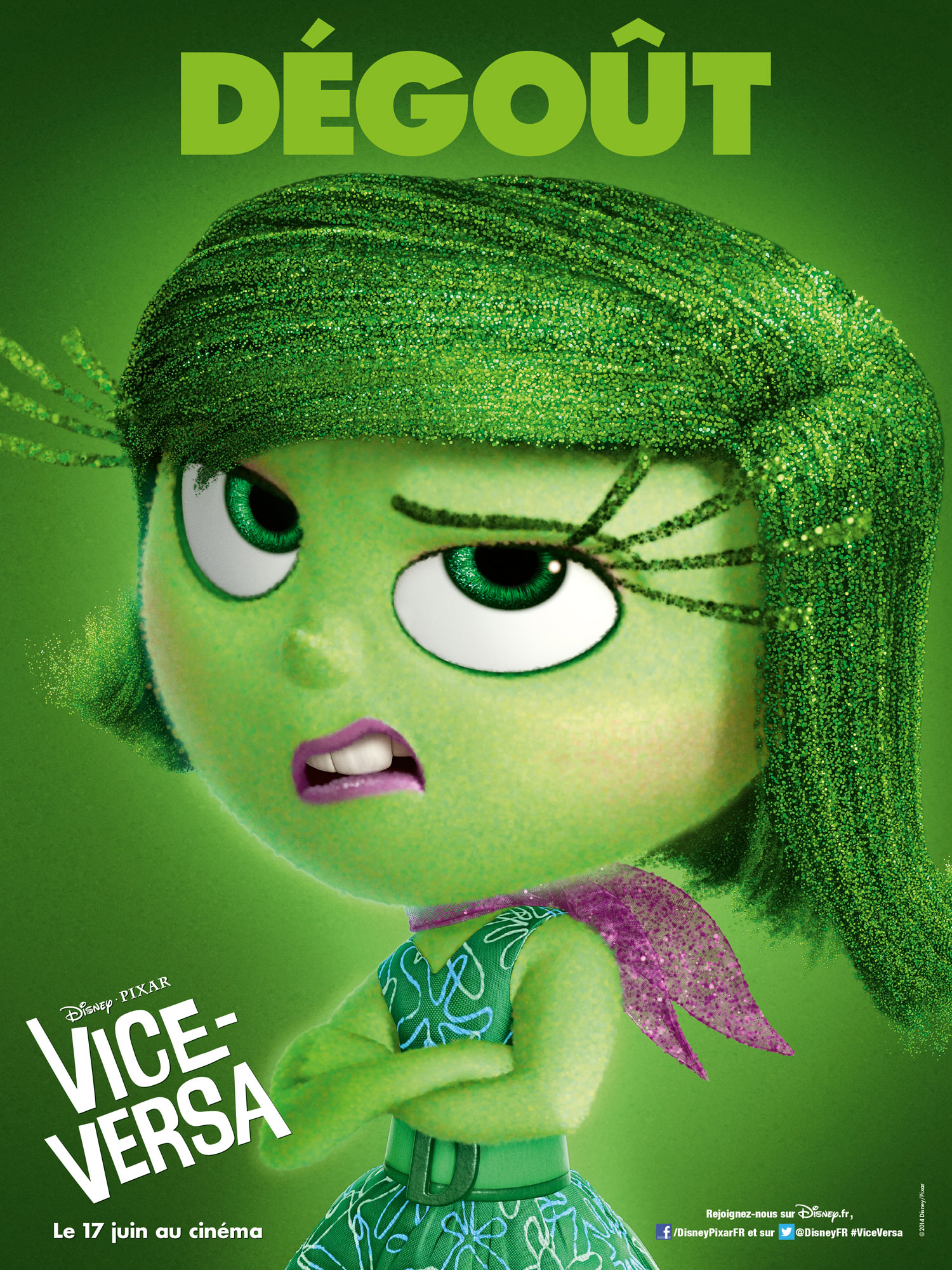 vice versa affiche poster inside out disney pixarvice versa affiche poster inside out disney pixar