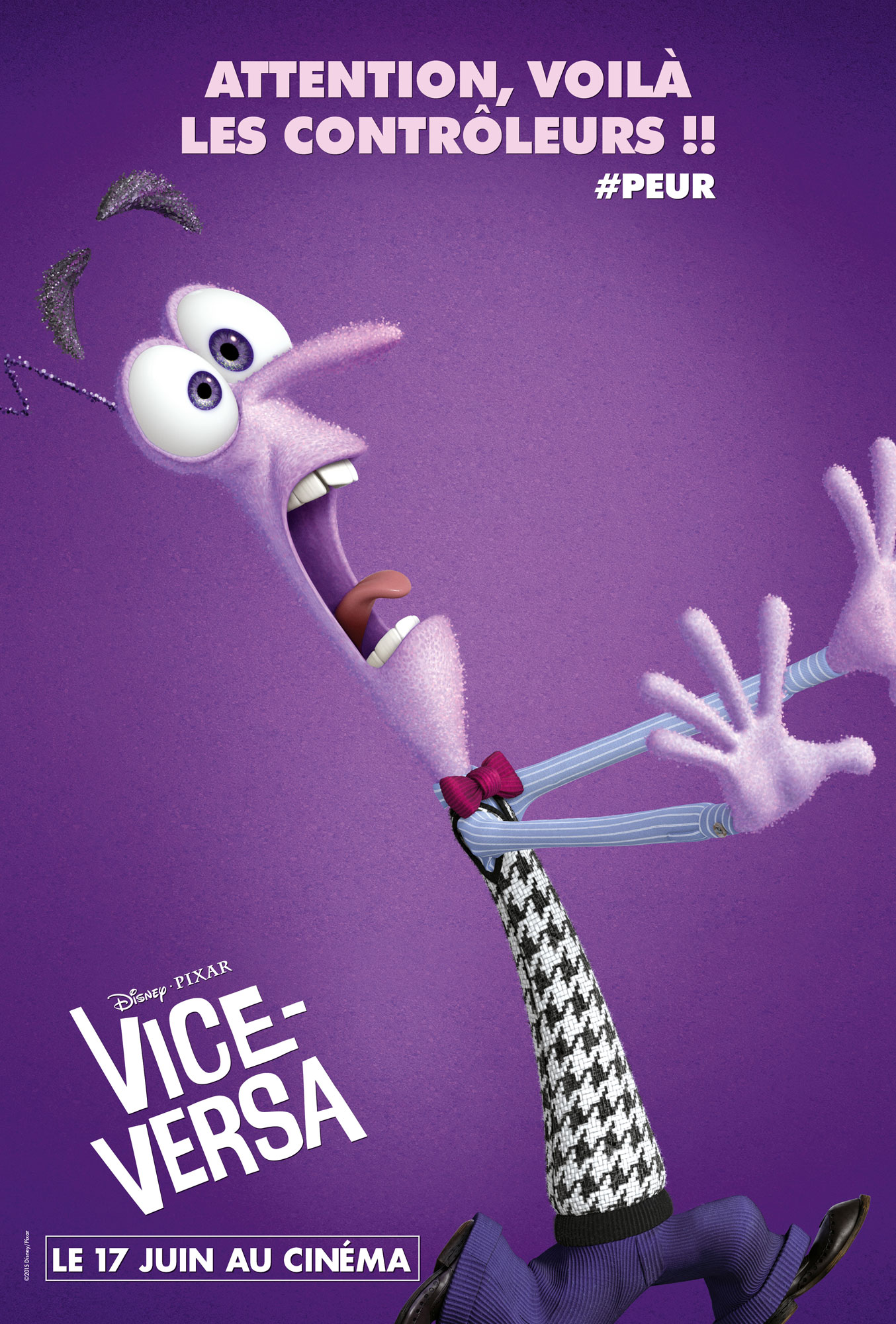 vice versa affiche poster pixar disney inside out train sncf metro gare