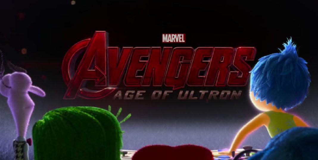 Pixar disney vice versa avengers inside out marvel