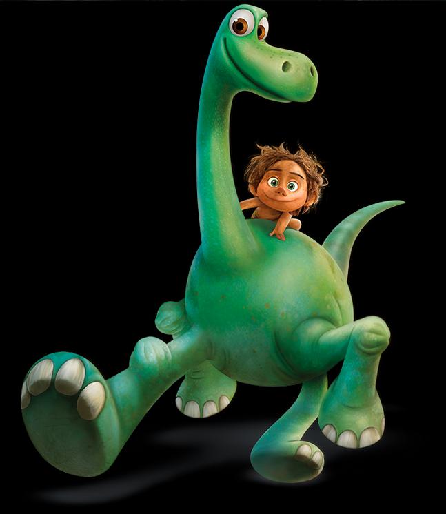 illustration Pixar les voyages d'arlo article personnages