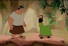 illustration faux raccord Kuzco Disney