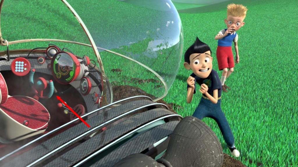Illustration faux raccords Bienvenue chez les robinson Disney