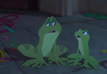 illustration Disney Faux Raccord La princesse et la grenouille