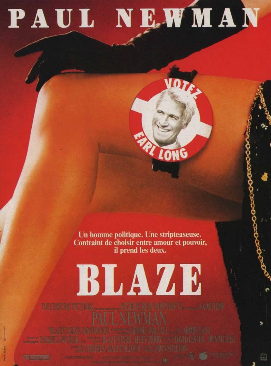 affiche blaze film touchstone pictures