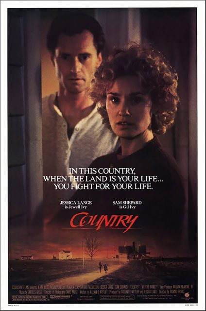 Affiche Poster country moissons colere disney touchstone