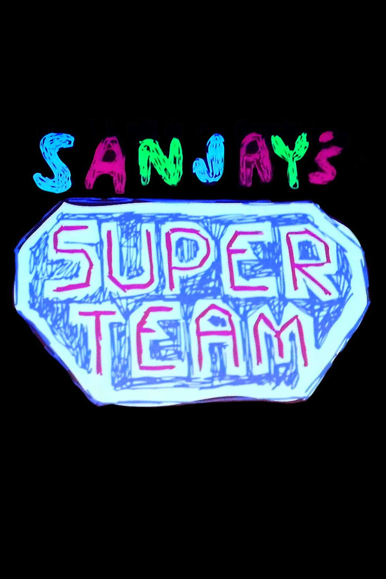 affiche poster sanjay super team équipe disney pixar