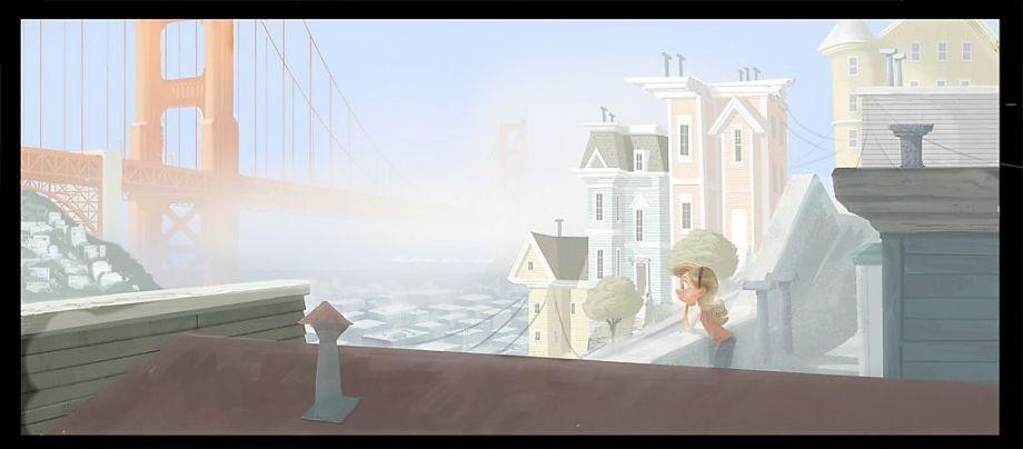 Pixar Disney Vice Versa Inside Out artwork