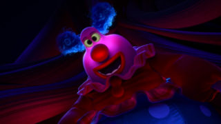 django clown jangles pixar disney character vice-versa inside out