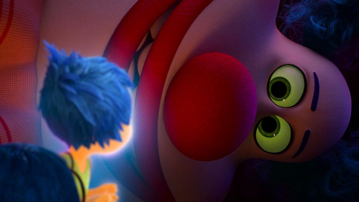 clown django personnage character vice versa inside out disney pixar