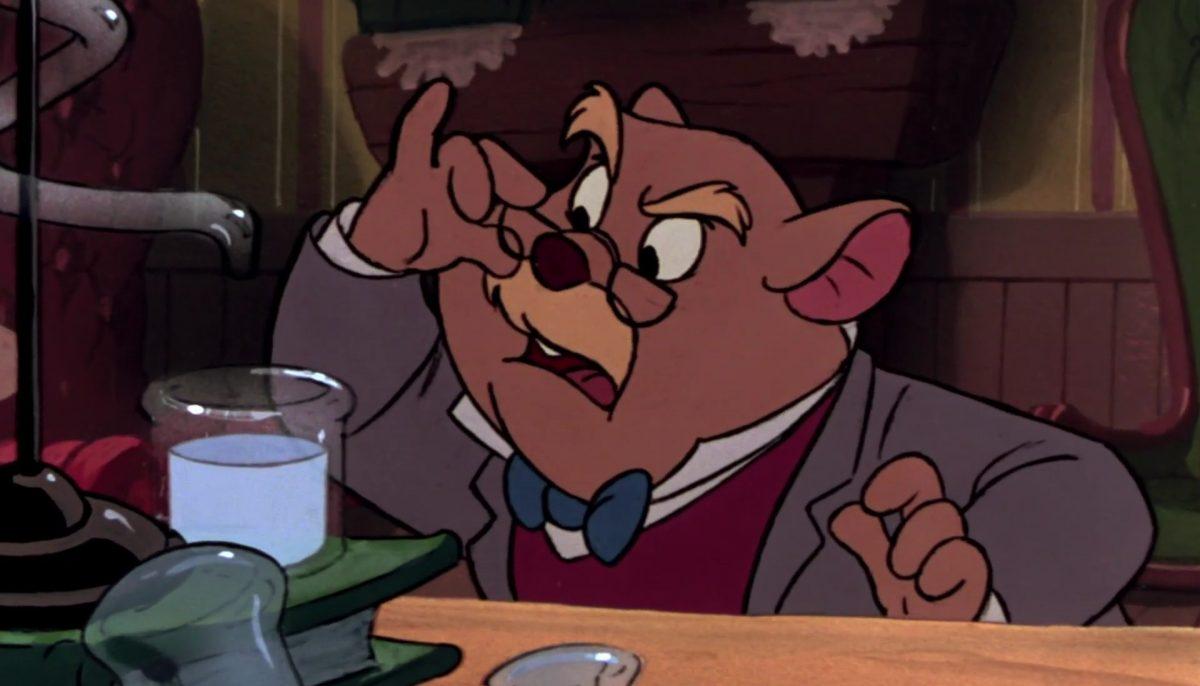 docteur doctor dawson david basil detective prive great mouse disney