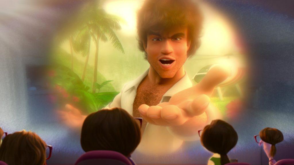 pilote hélicoptère brésilien pilot pixar disney personnage vice-versa character inside out