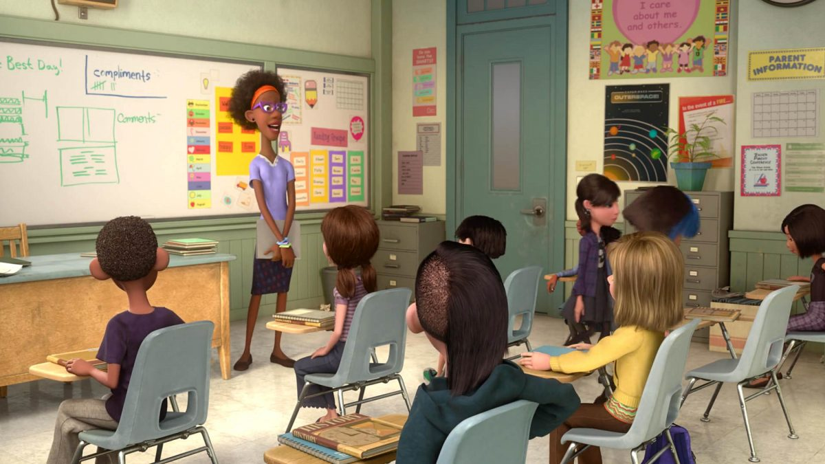 institutrice teacher personnage character vice versa inside out disney pixar