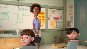 institutrice teacher pixar disney personnage vice-versa character inside out