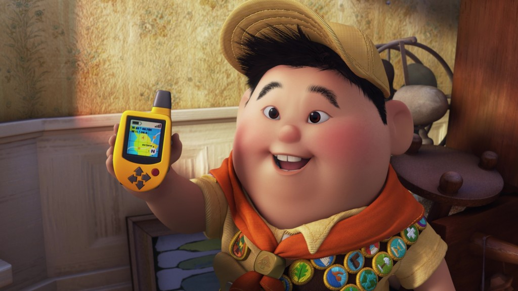 la-haut up Pixar Disney