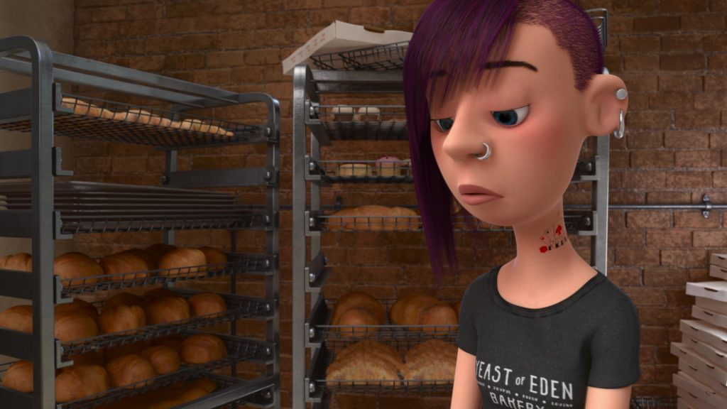 serveuse waitress pixar disney personnage vice-versa character inside out