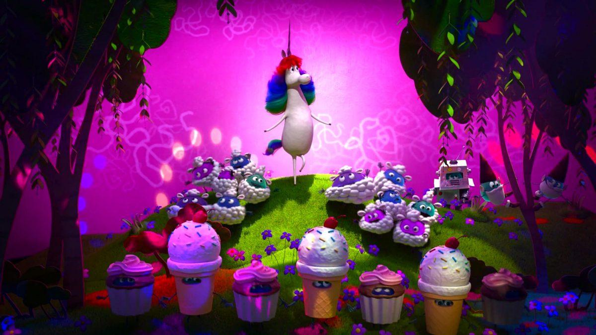 licorne arc en ciel rainbow unicorn personnage character vice versa inside out disney pixar