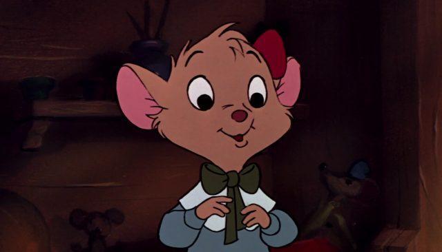 olivia flaversham basil detective prive great mouse disney