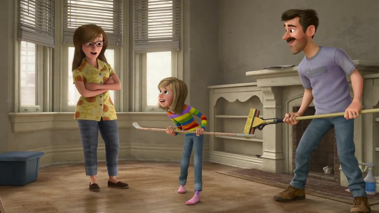 parents riley personnage character mother vice versa inside out