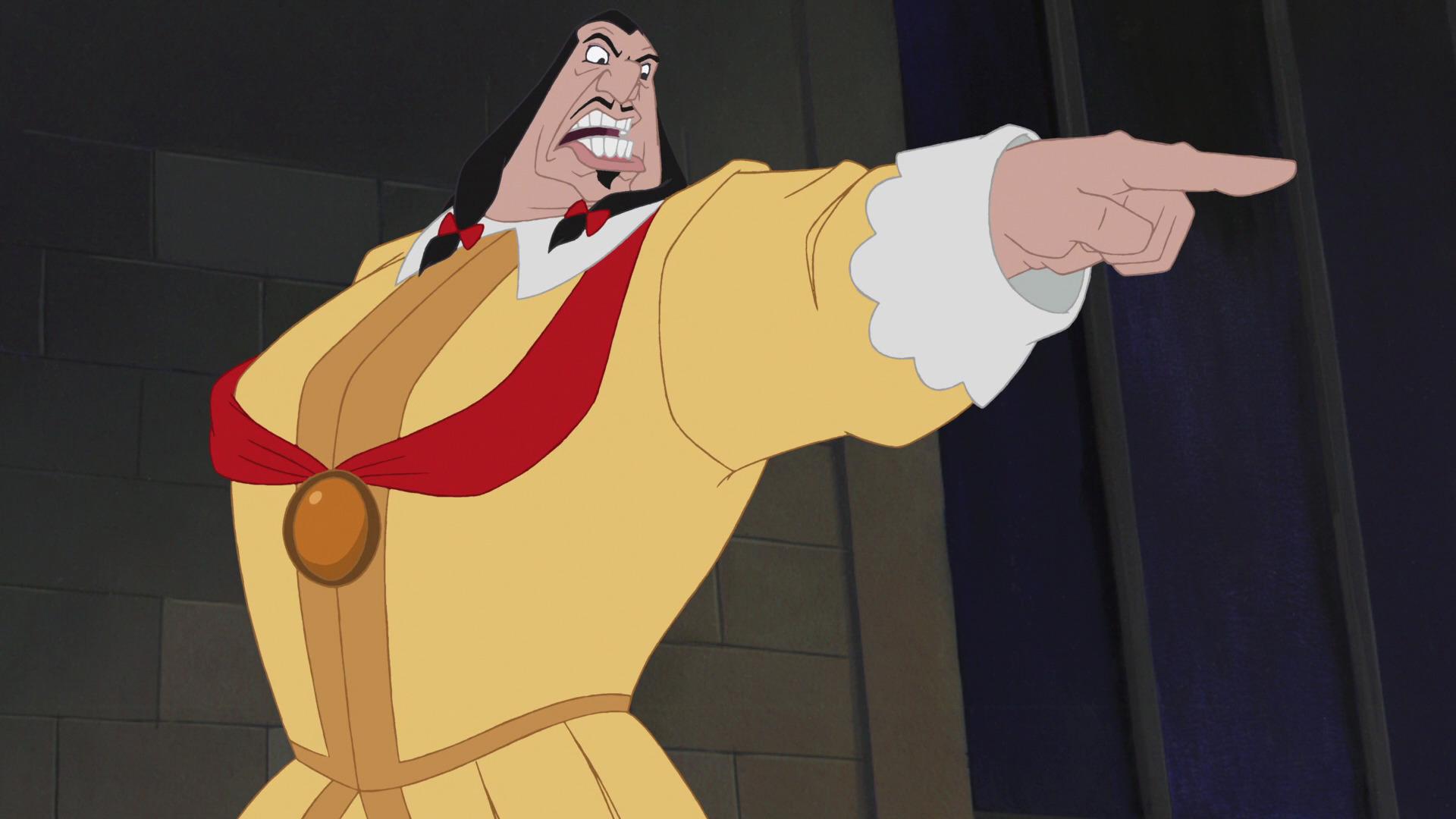 Gouverneur Ratcliffe, Personnage Dans Pocahontas.