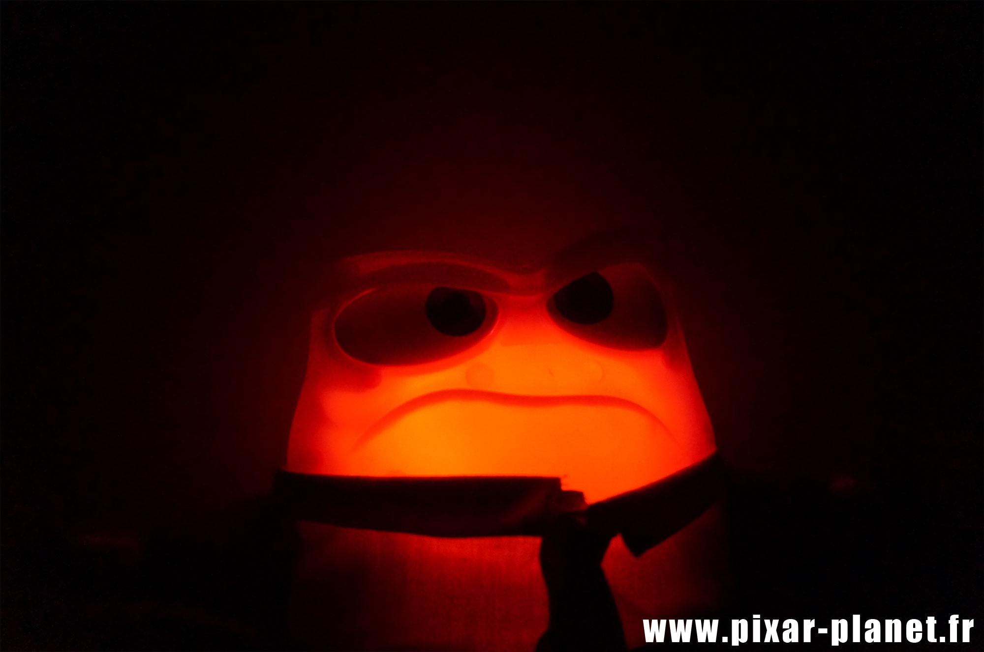 Pixar disney poupée toy vice versa inside out colère anger