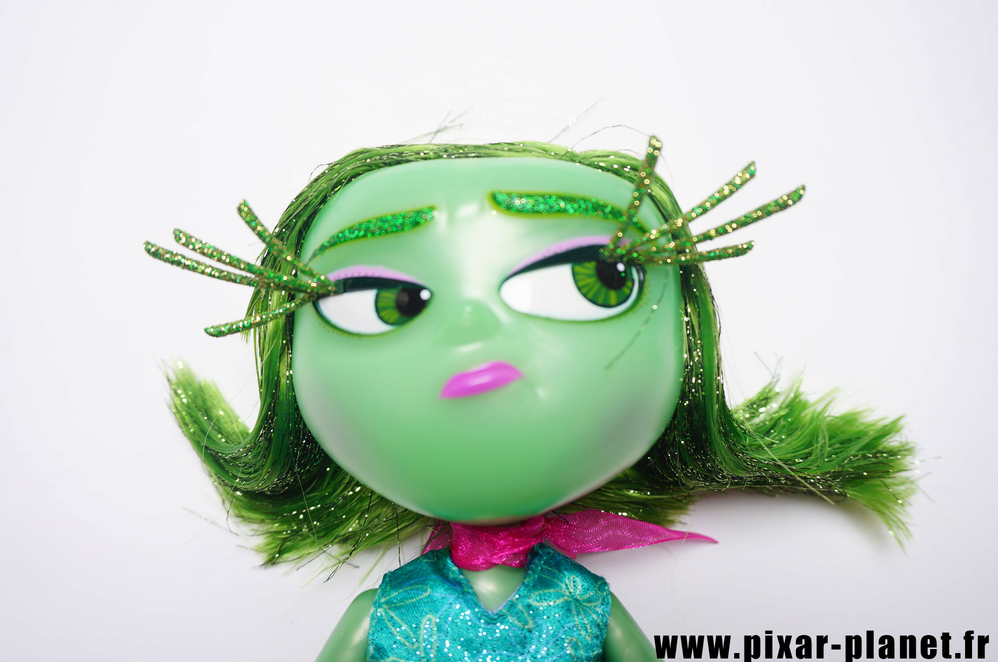 Pixar disney poupée toy vice versa inside out dégoût disgust