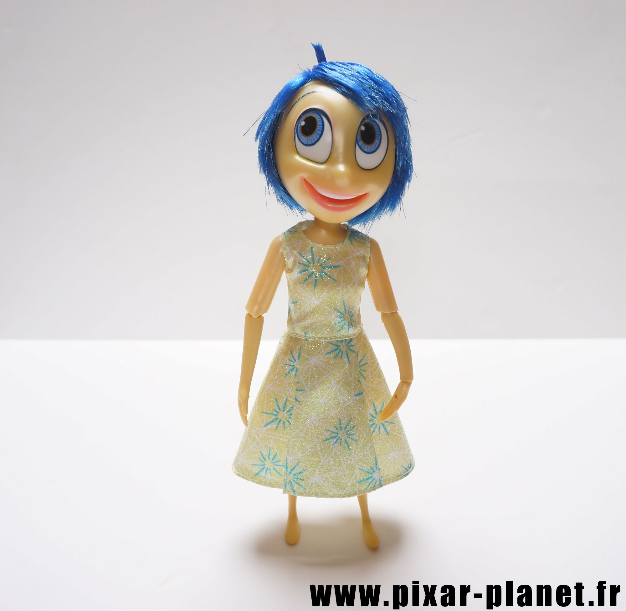 Pixar disney poupée toy vice versa inside out joie joy