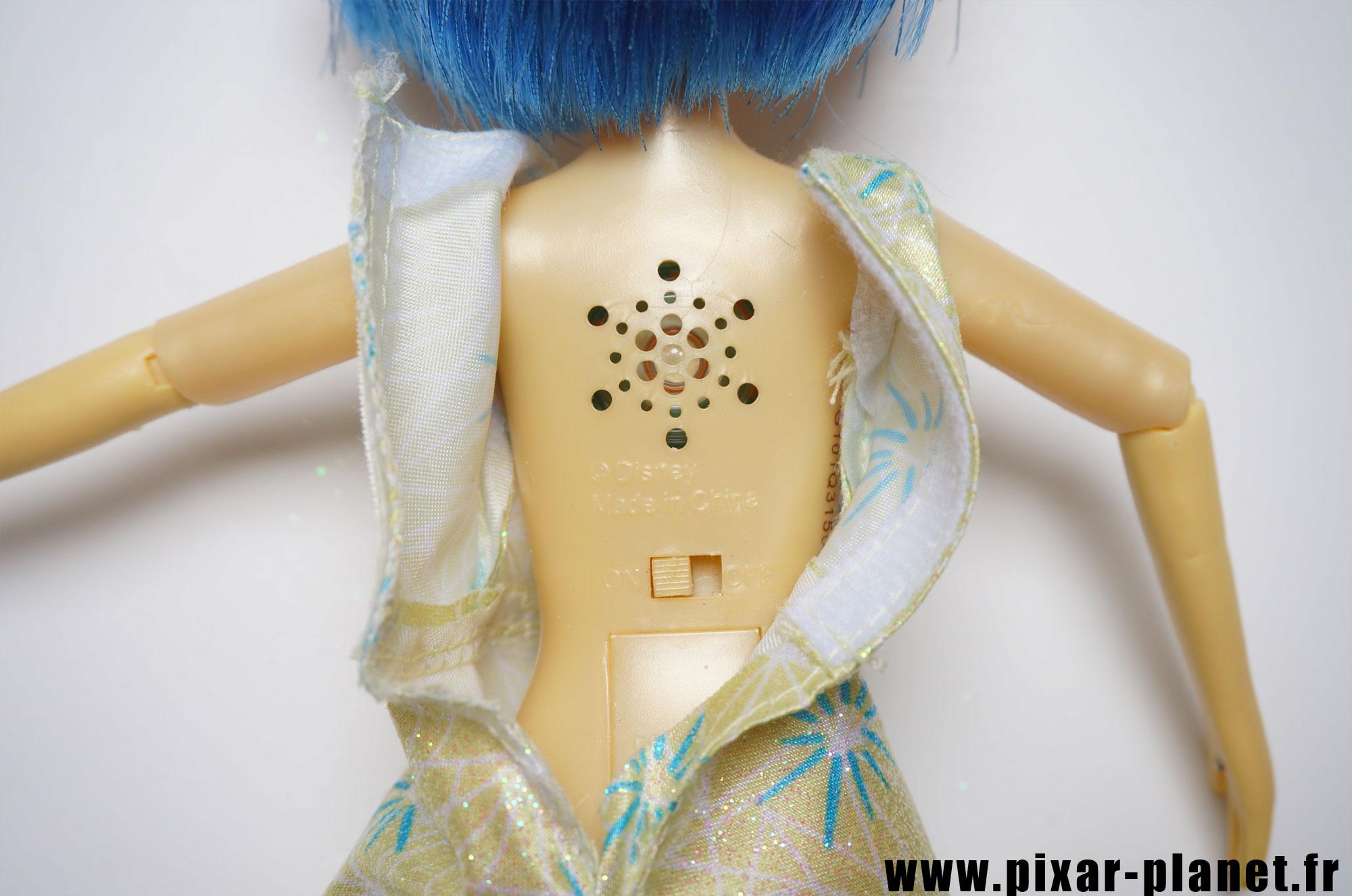 Pixar disney poupée toy vice versa inside out joie joy