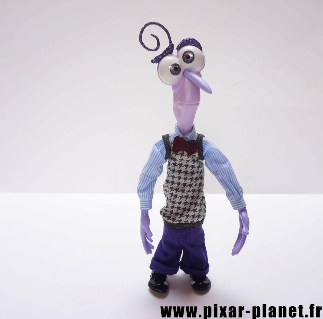 Pixar disney poupée toy vice versa inside out peur fear