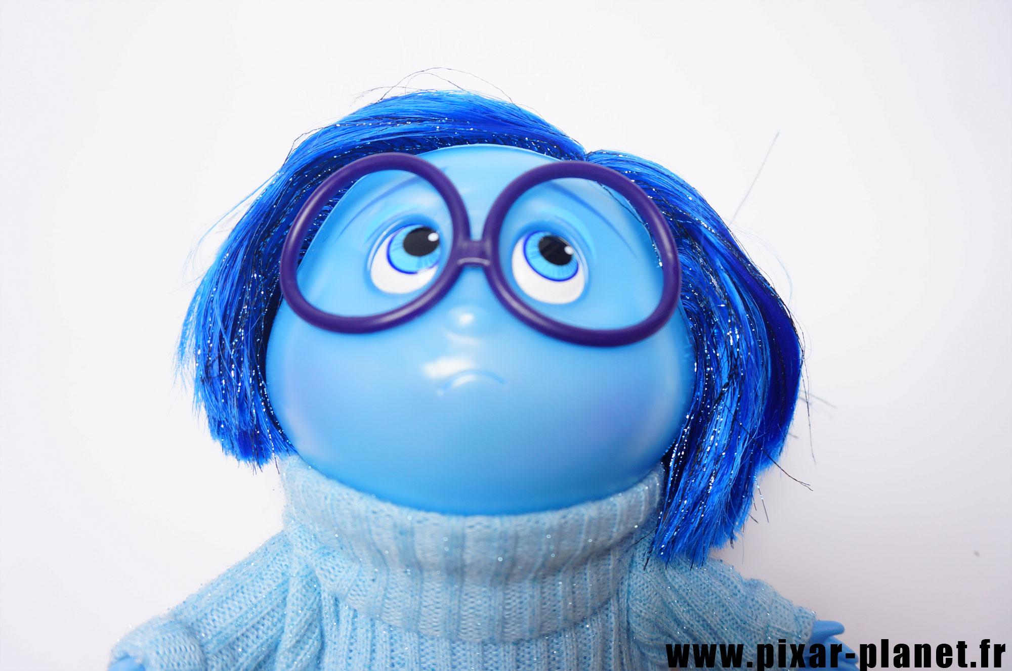 Pixar disney poupée toy vice versa inside out tristesse sadness