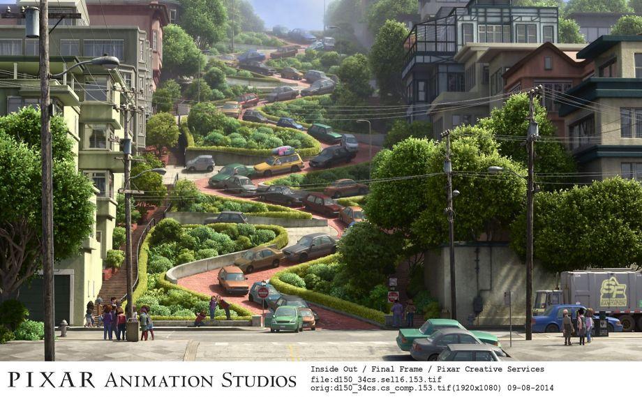 Pixar Disney Vice Versa Inside Out