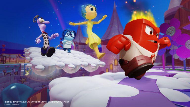 """Disney Infinity 3.0 : images de """"Vice-Versa""""."""