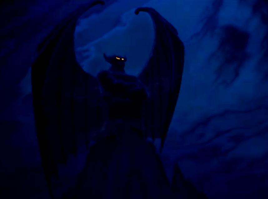 illustration actu Disney Une nuit sur le mont chauve