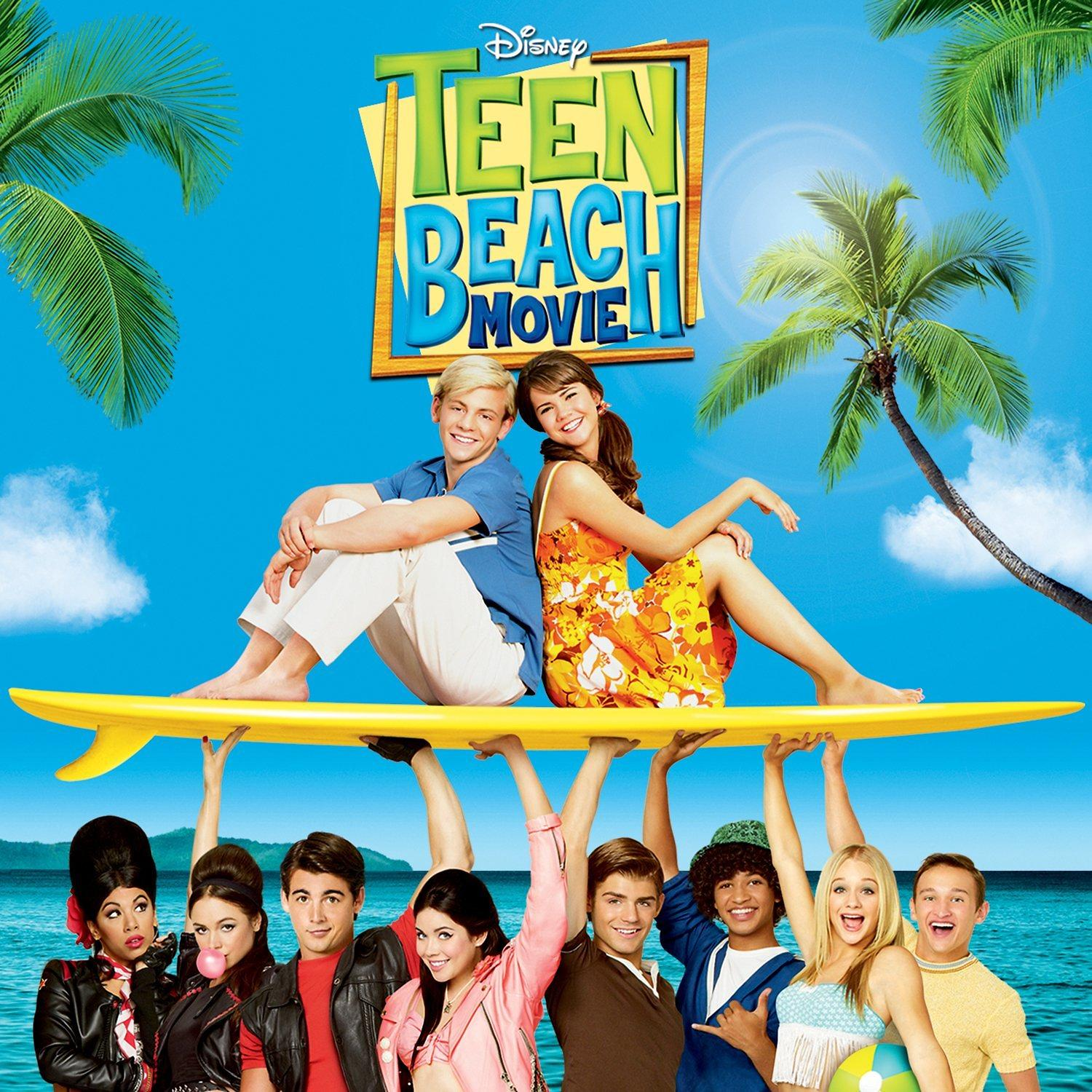 Illustration Album Disney Teen Beach Movie