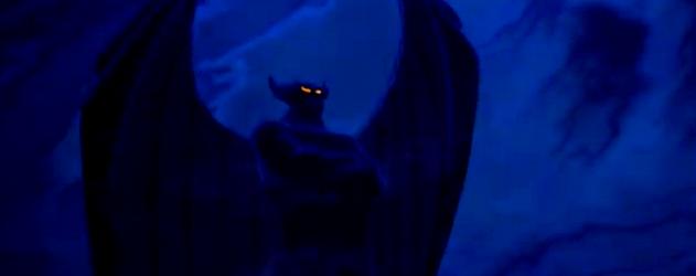 illustration une nuit sur le mont chauve disney