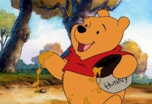 illustration Winnie l'ourson le film disney
