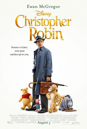 Affiche Poster jean christophe robin winnie christopher disney