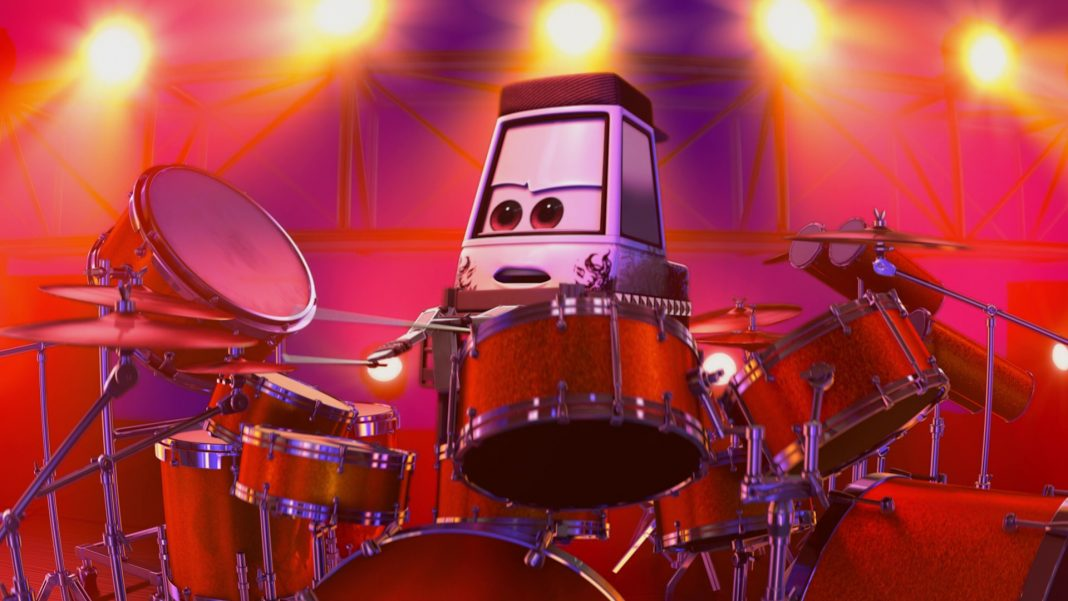 pixar disney personnage character cars toon heavy metal martin mater batteur drummer pitty
