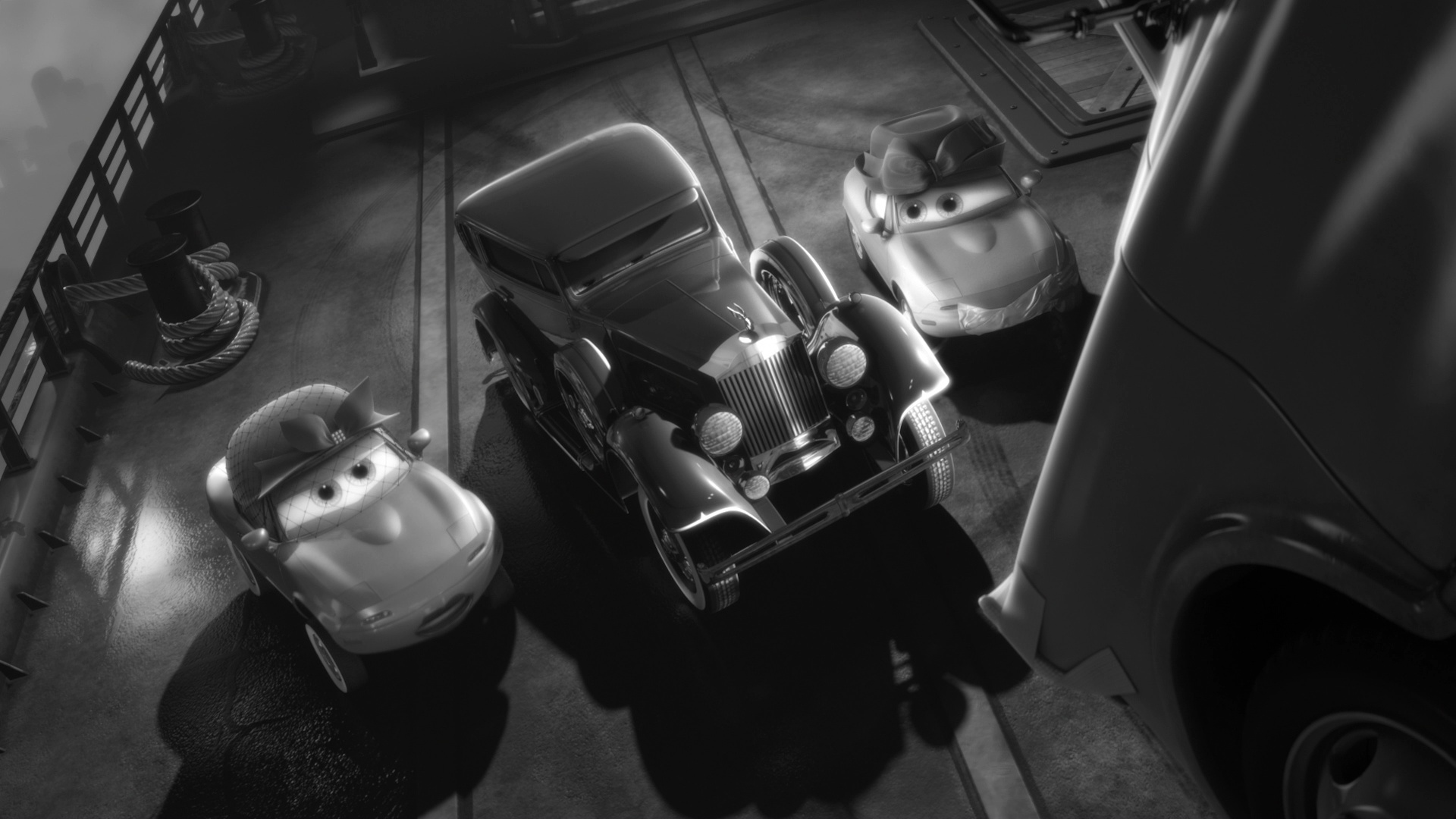 pixar disney personnage character  cars toon martin détective privé mater private eye big d