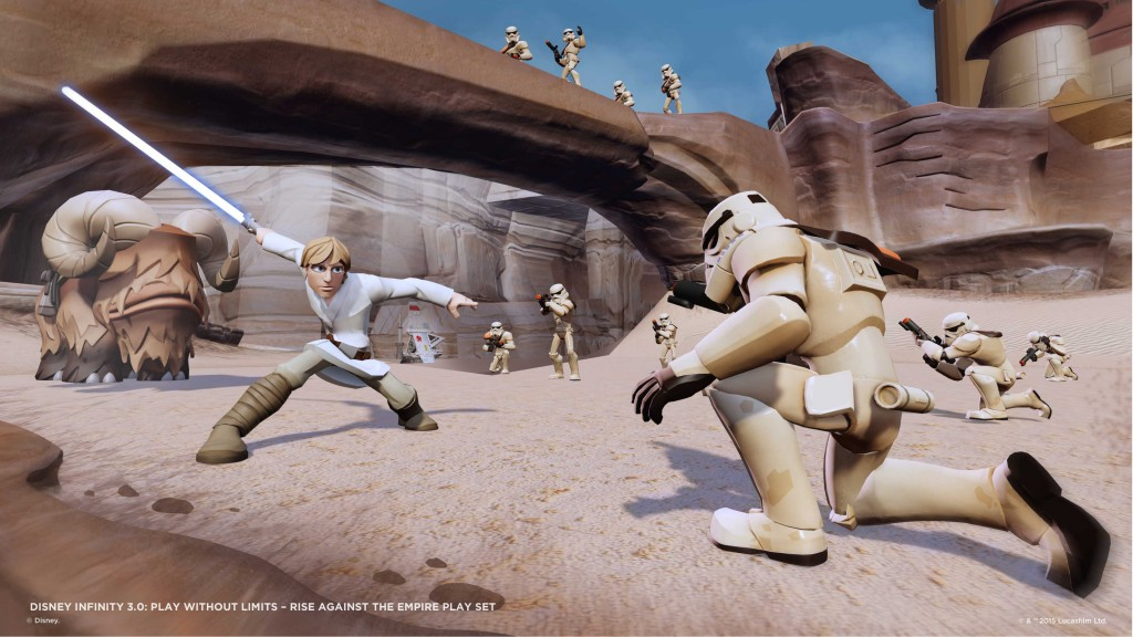 Disney Infinity jeu vidéo game star wars
