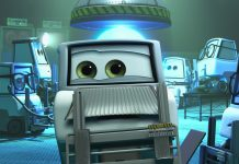 pixar disney personnage character cars toon martin volant non identifié Unidentified Flying Mater docteur doctor albert