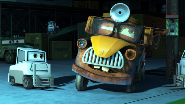 docteur albert personnage character cars toon disney pixar