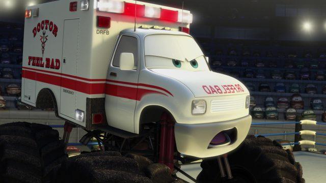 docteur feel bad personnage character cars toon disney pixar